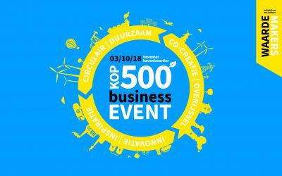 Kop500   hét business event in Overijssel